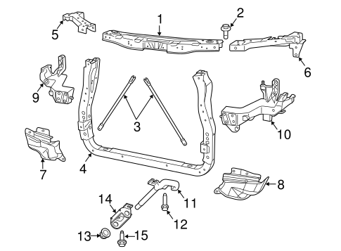 Radiator Support Scat