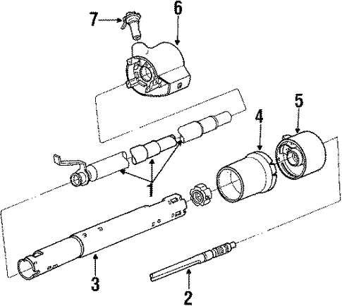 88 Chevy Steering Column Diagram