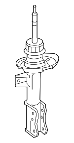 Strut - Mercedes-Benz (176-323-45-00)