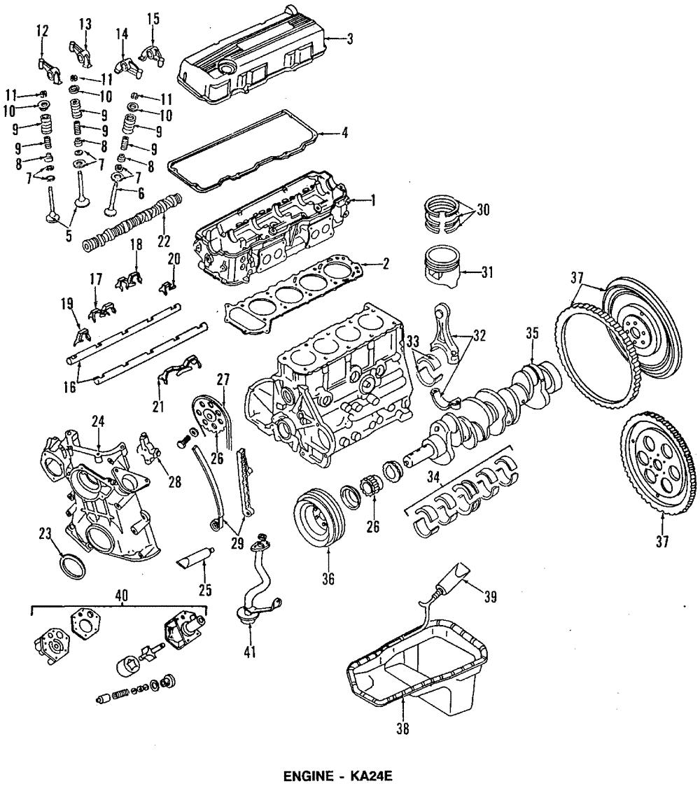 [SCHEMATICS_4US]  90-97 Nissan D21 Pickup Passenger Sd Rocker Valve OEM NEW Genuine  13257-40F16 | eBay | 97 Nissan Pickup 2 4 Exhaust System Diagrahm |  | eBay