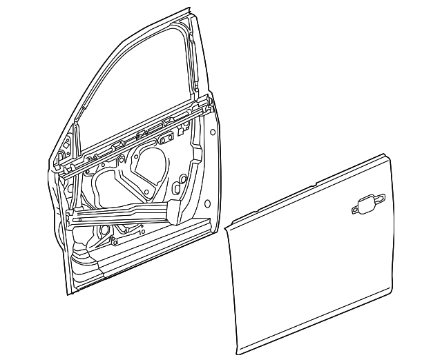 Gm Door Diagram