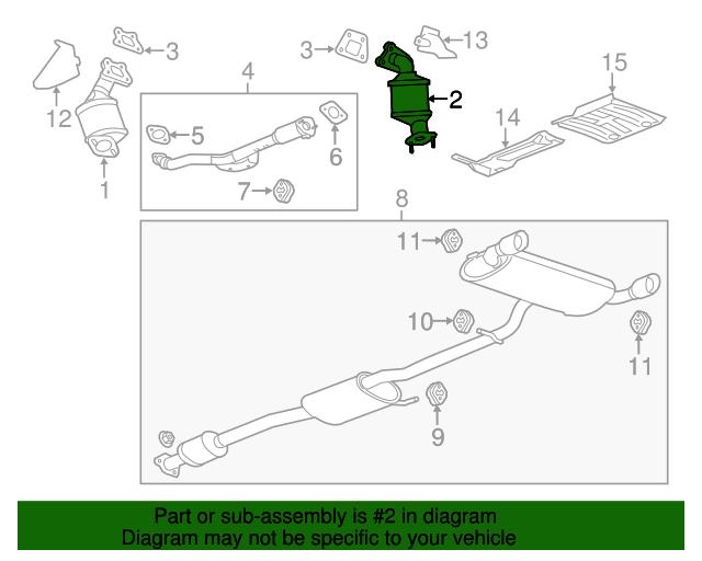 GM OEM Exhaust-Manifold Gasket 25801015