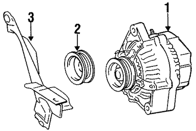 Alternator - Toyota (27060-11300-84)