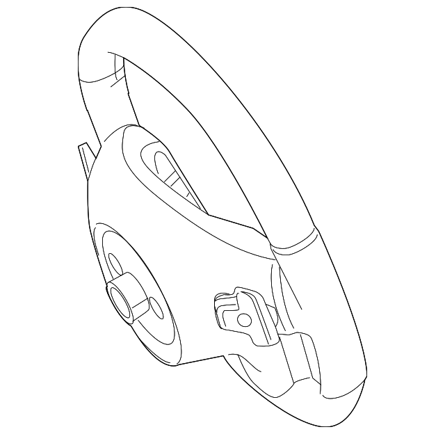 Genuine Mercedes Benz Steering Wheel 218 460 01 18 8p18