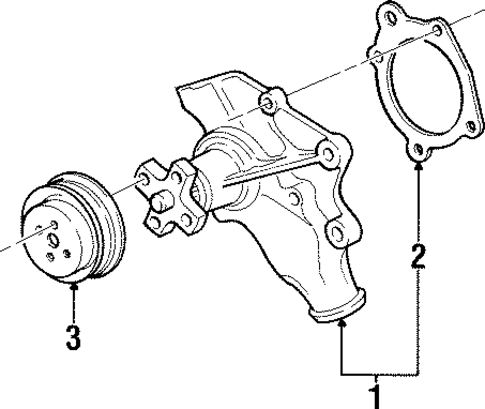 Mopar Pulley 53002907ab on inline 12 cylinder engine