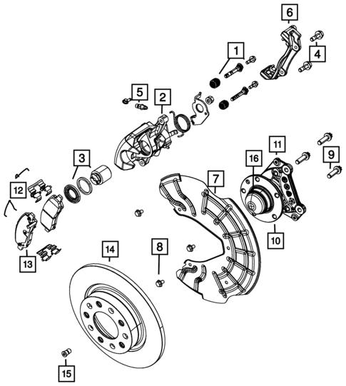 Rear Brakes For 2014 Dodge Dart