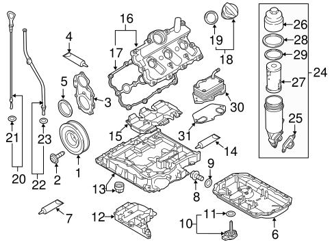 Engine Parts for 2015 Audi Q7 | XportAuto | Audi Q7 Engine Diagram |  | Xport Auto Parts Inc.