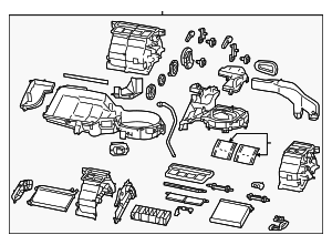 AC & Heater Assembly - Toyota (SU003-07633)