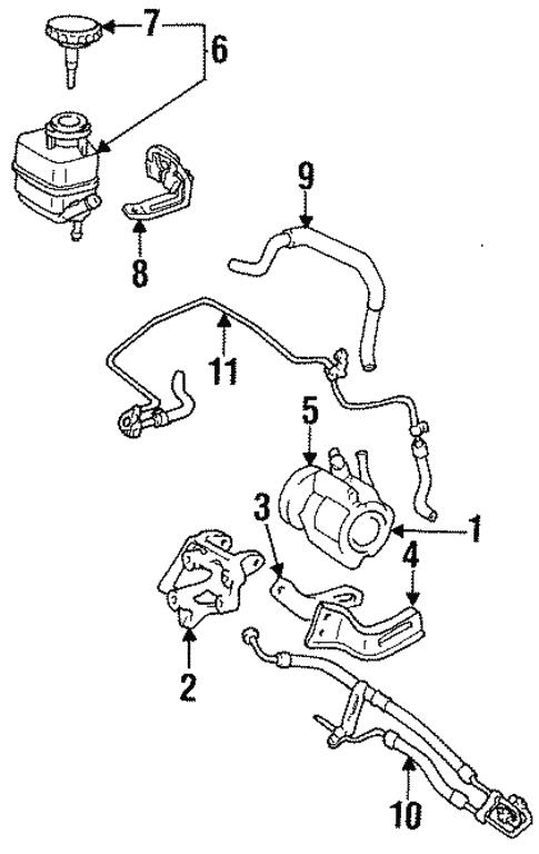 Pump Hoses For 1999 Toyota Celica