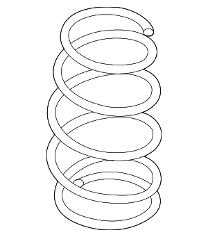 Coil Spring - Nissan (54010-1FC0A)
