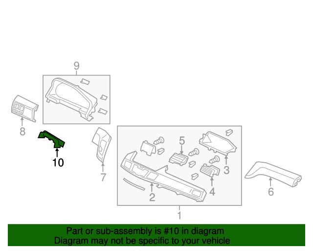 Genuine Hyundai 43711-24005-PR Gear Shift Lever Knob