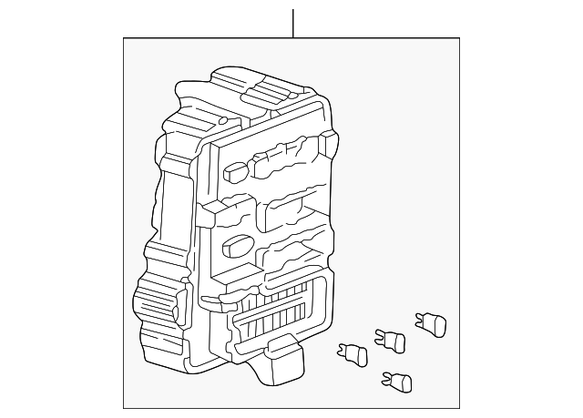 box assembly  fuse  passenger side