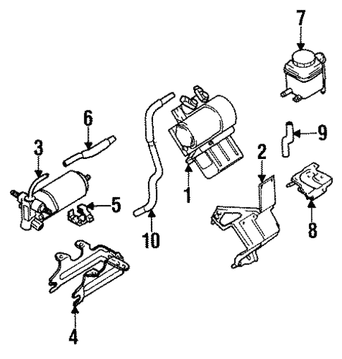 Traction Control Components For 1995 Infiniti Q45
