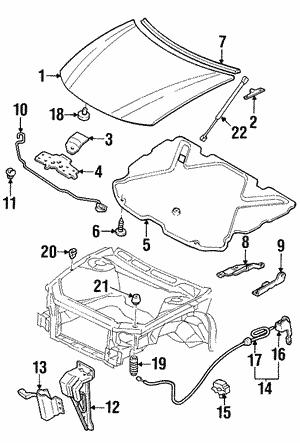 Auto Body Hoods Gm Replacement Hoods