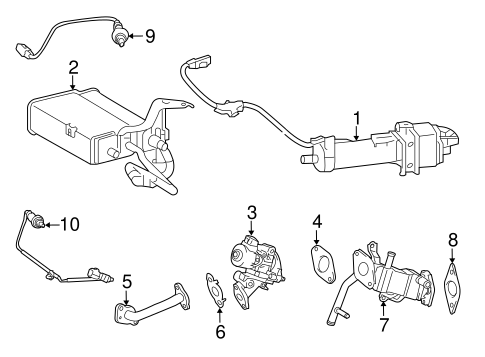 EMISSION SYSTEM/EMISSION COMPONENTS for 2012 Toyota Prius V #1