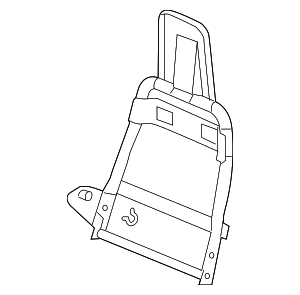 Seat Back Frame - GM (19127858)