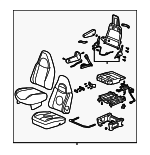 Seat Assembly - GM (84284840)