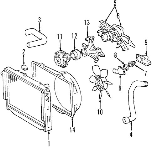 radiator ponents for 2001 toyota tundra mike erdman toyota 2006 Toyota Tundra Exhaust System Diagram radiator ponents for 2001 toyota tundra