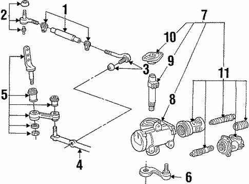 steering gear linkage for 2001 mercury grand marquis haag ford parts linkage for 2001 mercury grand marquis