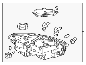 Headlamp Assembly - Volvo (31353140)