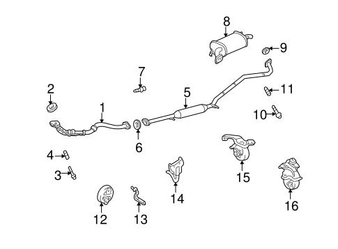 2003 Highlander Exhaust System Diagram - Wiring Diagram