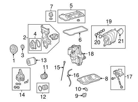 ENGINE/ENGINE PARTS for 2014 Toyota Corolla #1