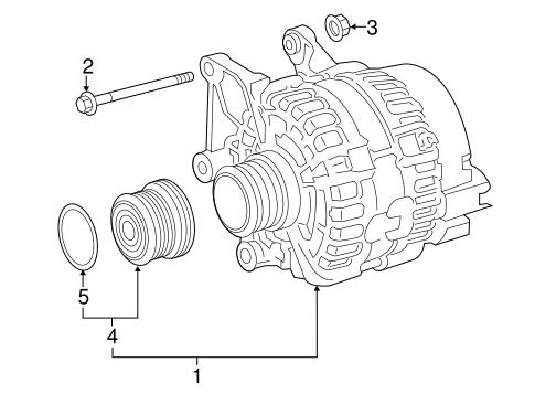 Alternator For 2017 Infiniti Q60