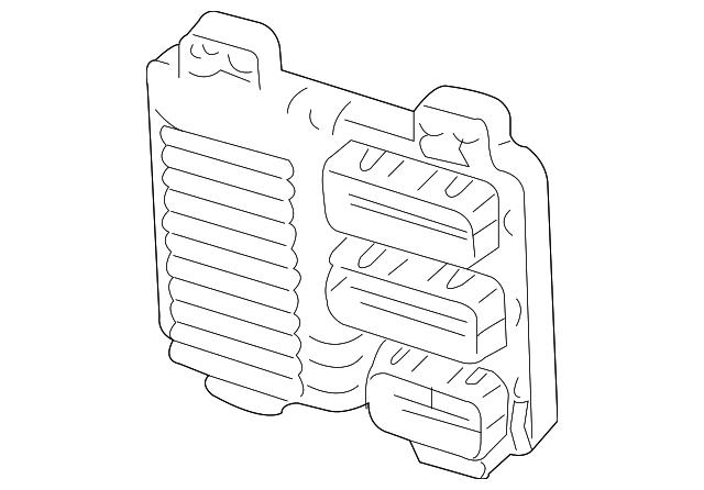 oem gm engine computer control module 06