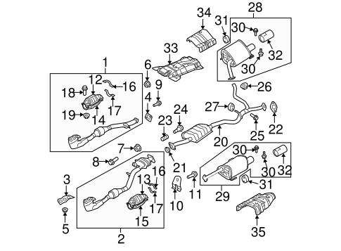 exhaust ponents for 2007 subaru b9 tribeca subaru parts depot Cadillac Escalade Fuse Diagram exhaust ponents for 2007 subaru b9 tribeca