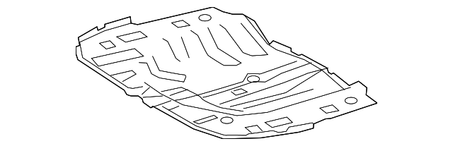 Rear Floor Pan