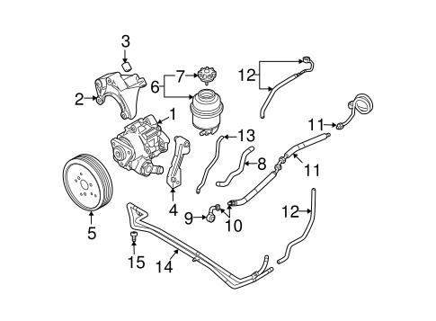 M// L Power Steering Return Pump Hose For AUDI A6 S6 4F1 422 891A