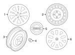 Wheel, Alloy - Nissan (40300-6FL3A)