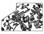 AC & Heater Assembly - Infiniti (27110-1MA3B)