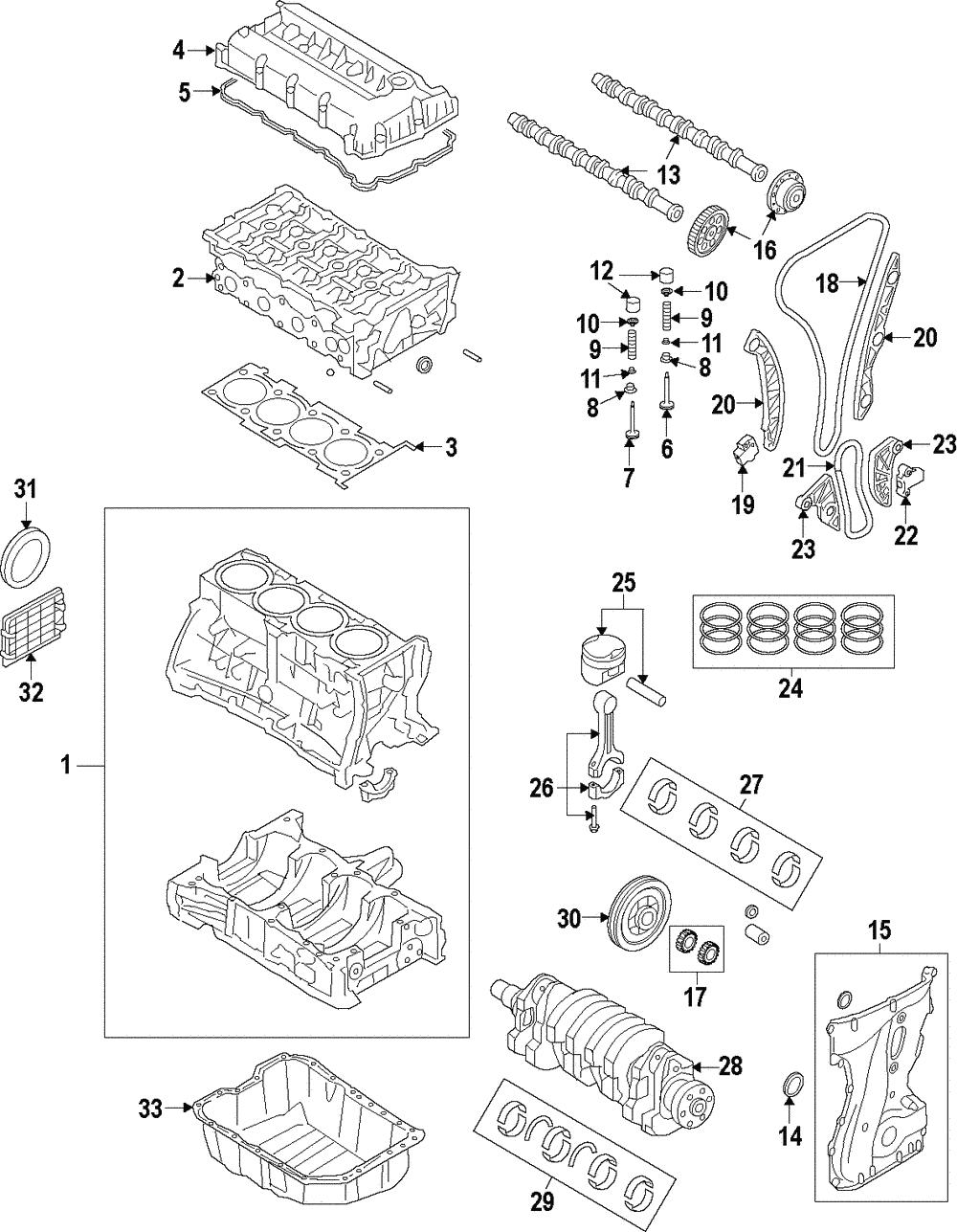 Genuine Kia Engine Timing Camshaft Sprocket 24370