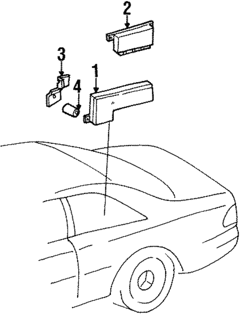 Electrical Components For 1998 Mercedes Benz Cl 500