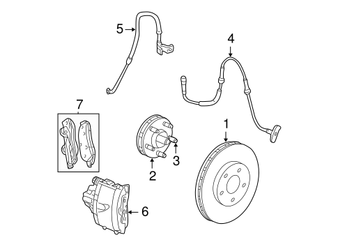 Brake Components For 2004 Dodge Neon