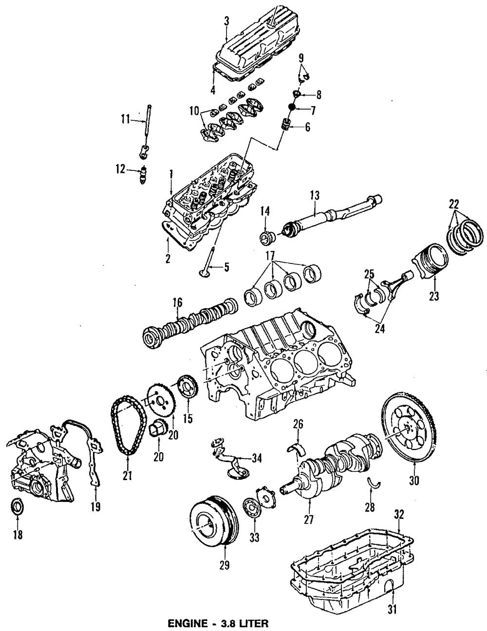 Genuine Gm Pistons 12537198 Ebay Diagram Of Auto Engine Piston