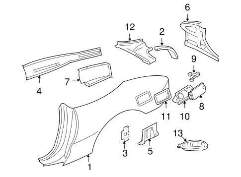 Chevy Cavalier Motor Mount Diagram