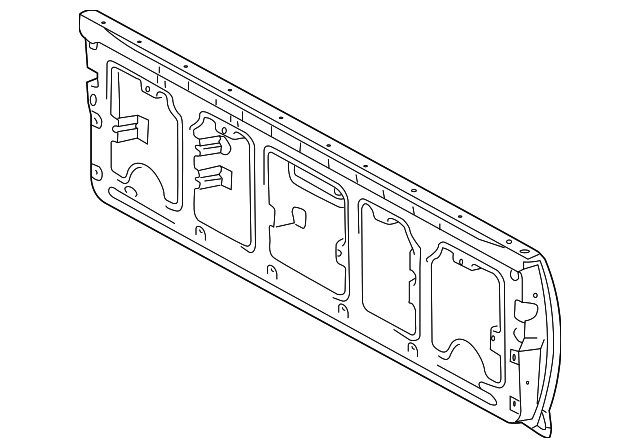 genuine toyota tacoma tail gate 65701