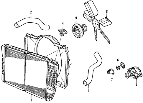 el camino engine parts with Gm Thermostat Housing 14087075 on 60 Chevy Exhaust Diagram Html in addition 1968 Amc Javelin Wiring Diagram in addition 1966 Mustang Steering Wheel Wiring Diagram further Jeep Yj 4 0 Engine in addition Auto Transmission Slipping Or Something.