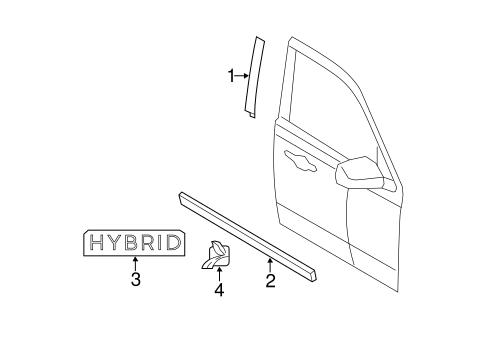 Interior Trim Door Scat further Ignition Switch Scat likewise Exterior Trim Front Door Scat additionally Rear Door Scat in addition 2005 Mercury Mariner Wiring Diagram. on mercury mariner interior