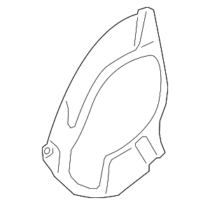 Splash Shield - Porsche (991-351-802-01)
