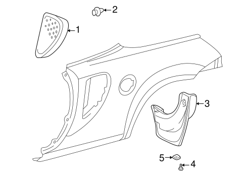 Lower Molding Retainer