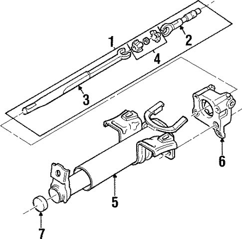 Lower Components For 1997 Cadillac Catera