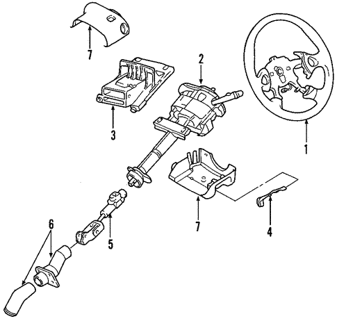 Gm Steering Column Parts