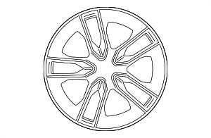 Wheel - Mercedes-Benz (213-401-50-00-7X23)