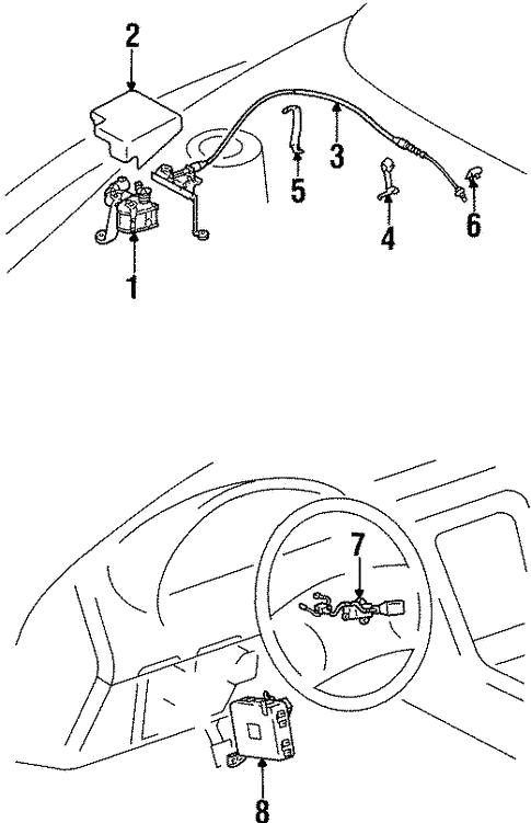 Cruise Control For 1996 Lexus Sc400