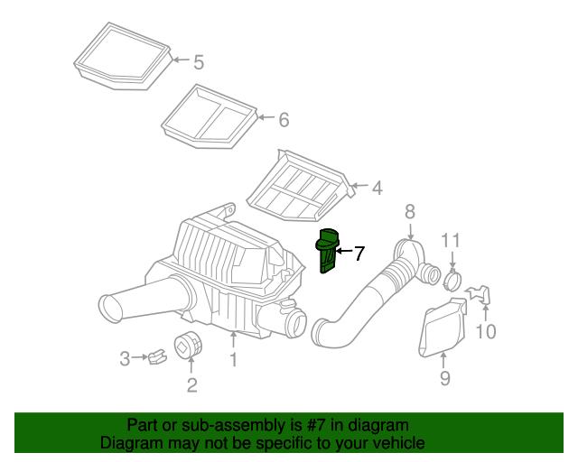 New Mass Air Flow Sensor Meter for Porsche 911 Boxster H6 3.6L 2.7L 3.2L