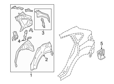 Inner Structure For 2018 Subaru Crosstrek