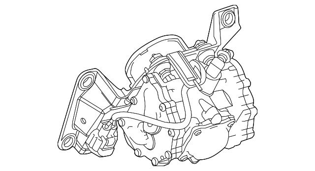 Genuine Ford Vacuum Pump 9m6z 2a451 A